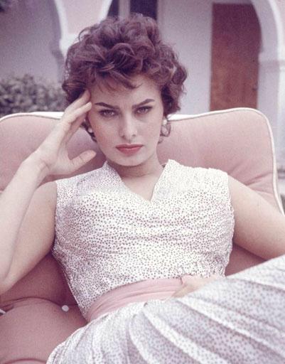 Софи Лорен (Sophia Loren) знает источник вечной молодости