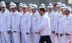 Дмитрий Медведев посетил Дальний Восток