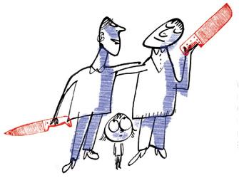 Из отношений в семье ребенок перенимает способы разрешения конфликтов, умение идти на компромисс, договариваться.