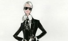 В честь Карла Лагерфельда сделали Barbie