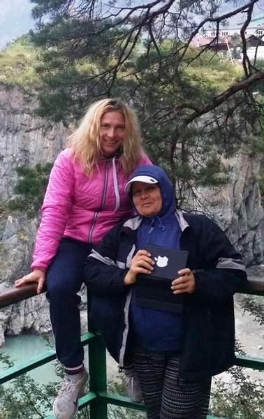 Светлана Болдыкова и ее мама Тамара Ивановна