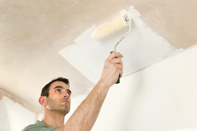 Сделать дешевый потолок