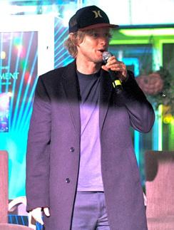 Оуэн Уилсон в Москве