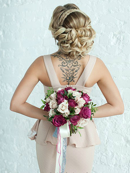 Свадебная прическа