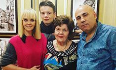 Валерия перевезла свою маму в Москву