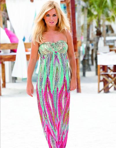 В новую линию белья от Джери Халлиуэл вошли также пляжные платья и туники