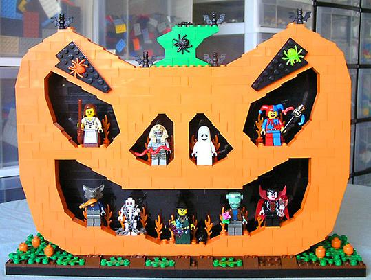 Хэллоуин в центре «Лего-го»