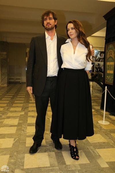 Золотой орел – 2016: Марина Александрова с мужем