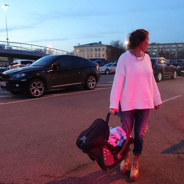 Елена Темникова худеет после родов фото