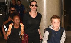 Шайло и Захара Джоли-Питт одели бедняков
