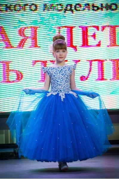 Лучшая детская модель Тулы – 2016, Анна Елагина