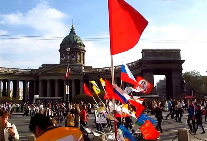 пила фракцию, уличные мероприятия в спб 02мая2016г России
