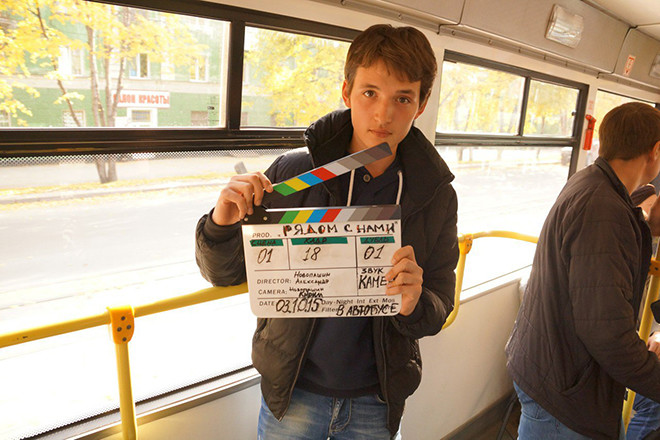 Съемки фильма в Новосибирске