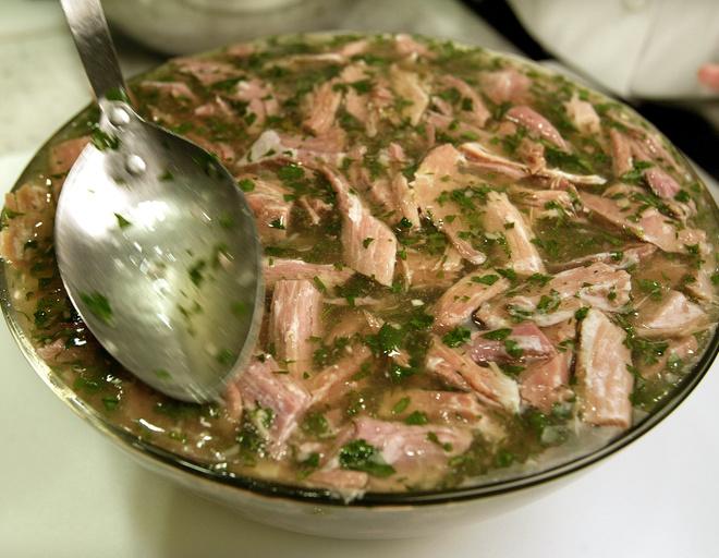 приготовить холодец рецепт из свиной рульки и говядины