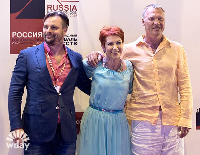 Оксана Сташенко, Александр Носик, Анатолий Журавлев