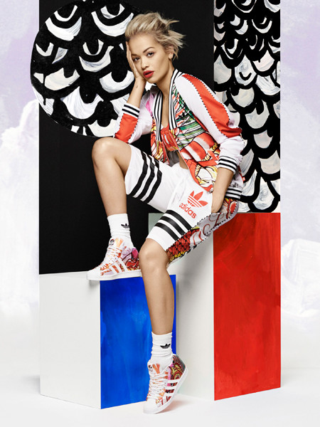 Рита Ора в рекламе собственной коллекции для Аdidas