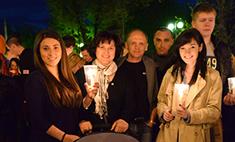«Свеча памяти» в Калуге: море огней и людей