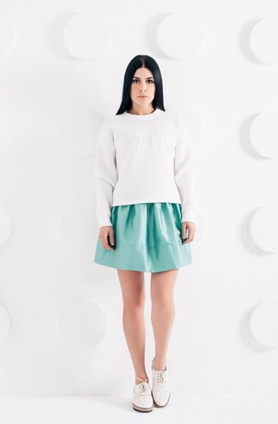 Модный лук, дизайнерские вещи