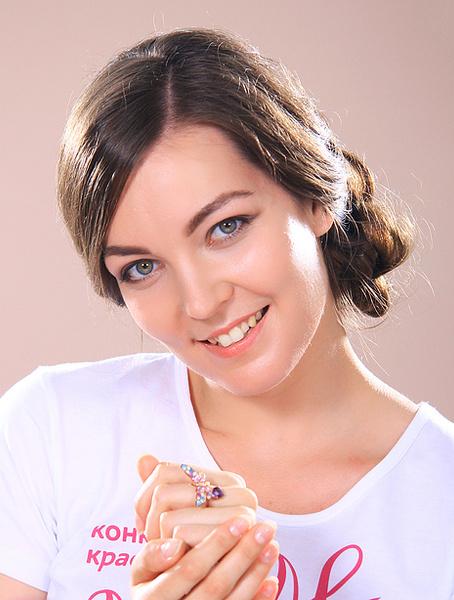 Жанна Тютюева, участница конкурса «Мисс Мегаполис», фото