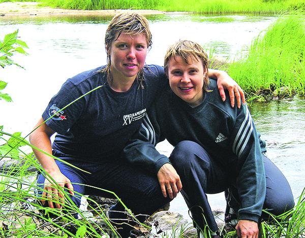 Вместе в отпуске – на родине Ани в Вологодской области.
