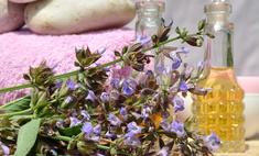 Масло шалфея для оздоровления кожи рук и ногтей