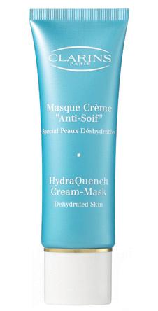 Увлажняющая крем-маска HydraQuench Cream-Mask, Clarins возвращает коже сияние естественной красоты и здоровое состояние.