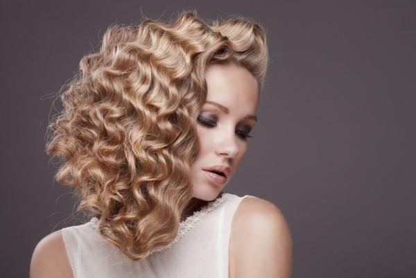 Укладка волос после химии