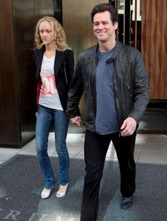 Джим Керри (Jim Carrey) с подругой