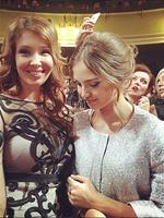 Алеся с мамой Марией Кафельниковой