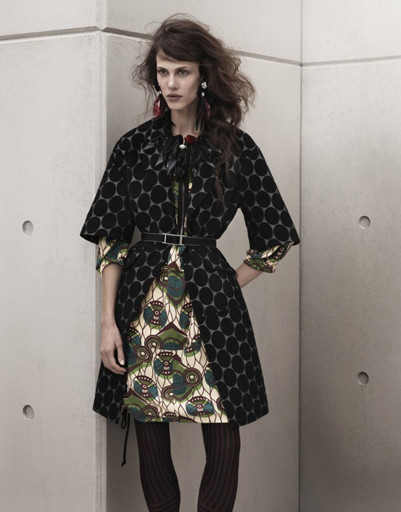 Лукбук коллекции Marni для H&M, весна-лето 2012