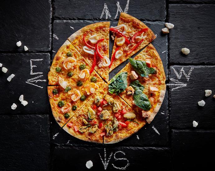 Пицца «Четыре океана»