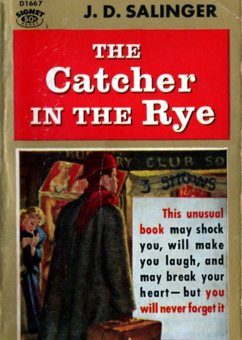 an analysis of the story of the catcher in the rye by j d salinger Let's just say that this book is certainly one open to a lot of controversy and debate, yet that is what makes it such an interesting read the catcher in the rye certainly wouldn't be everyone's cup of tea, however i find it an exciting and compelling read, with a gallon of brutal reality poured in along with some humour, contrasting with moments of.
