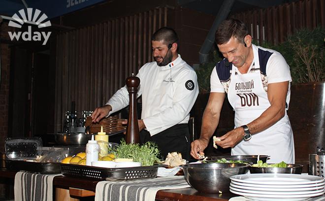 Большой кулинарный бой в ресторане Schneider-Weisse