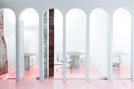 Жизнерадостный интерьер офиса: проект в деталях | галерея [1] фото [4]