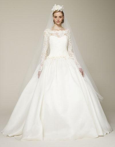 Свадебное платье Marchesa 2013