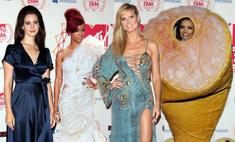 Самые необычные наряды на премии MTV EMA