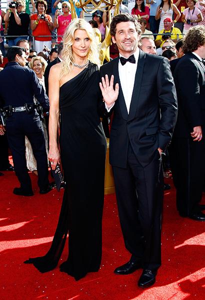 Патрик Демпси и его жена фото