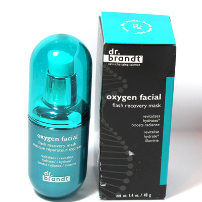 Флеш-маска Dr. Brandt Oxygen Facial Flash Recovery Mask – 40 мл, 4900 рублей