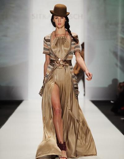 Mercedes-Benz Fashion Week: Sitka Semsch, весна-лето 2012