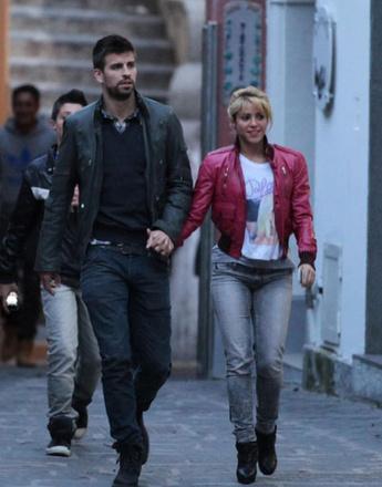 Шакира и Жерар Пике путешествуют по Италии
