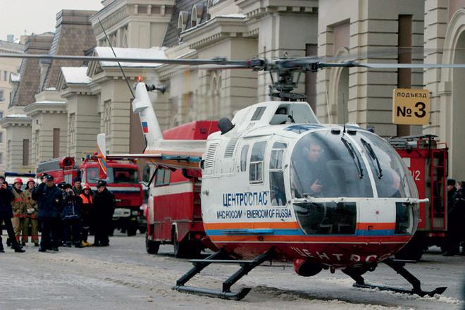 Москва, взрыв в метро на станции «Павелецкая».