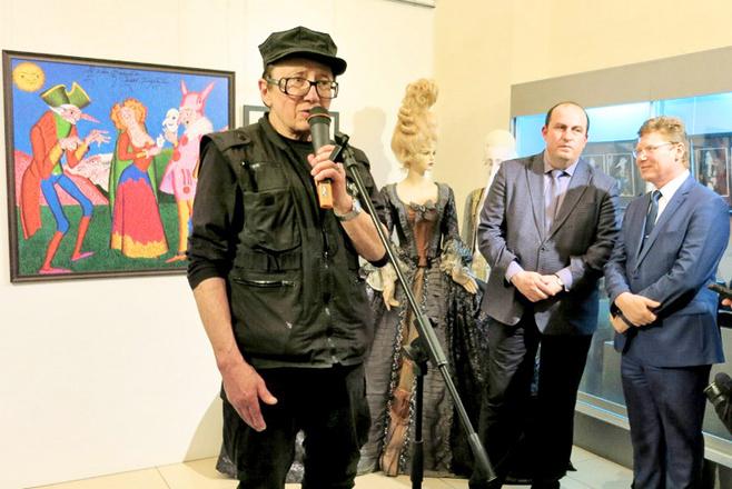 Михаил Шемякин открыл в Челябинске свою выставку