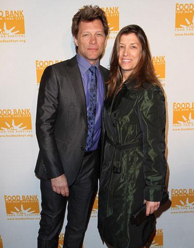 Джон Бон Джови (Jon Bon Jovi) и Дороти Херли (Dorothea Hurley)