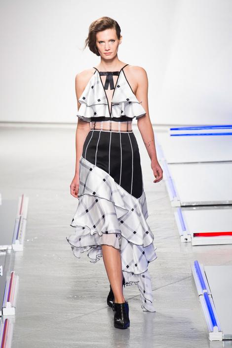 Rodarte на Неделе моды в Нью-Йорке