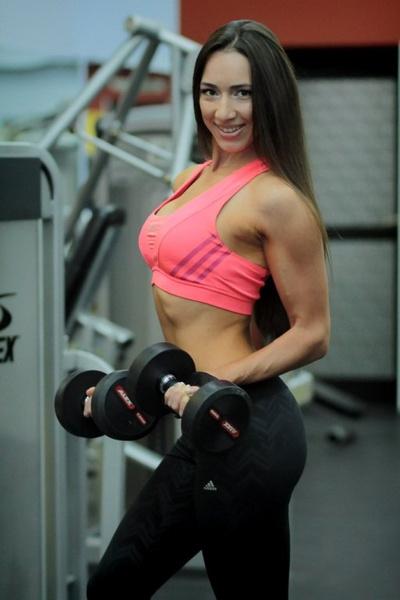 Екатерина Бородатова, фитнес-бикини модель, г. Абакан