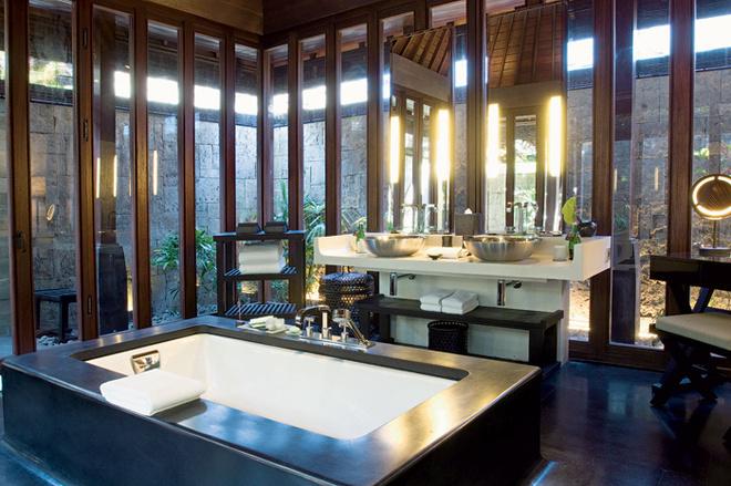 Идея 2: ванная комната в саду