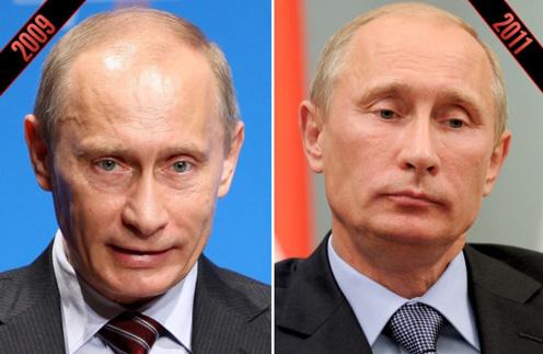 Путин ботокс