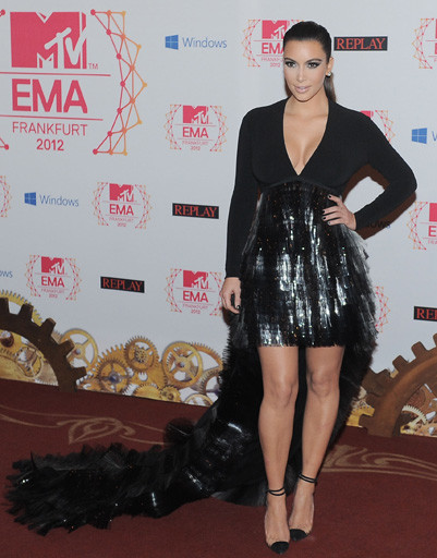 Ким Кардашян (Kim Kardashian) на MTV EMA 2012