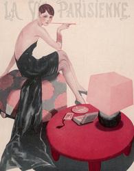 Иллюстрация Жоржа Леоннека к журналу «Парижская жизнь», 1926 год