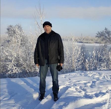 Николай Валуев во время январской командировки в Красноярске